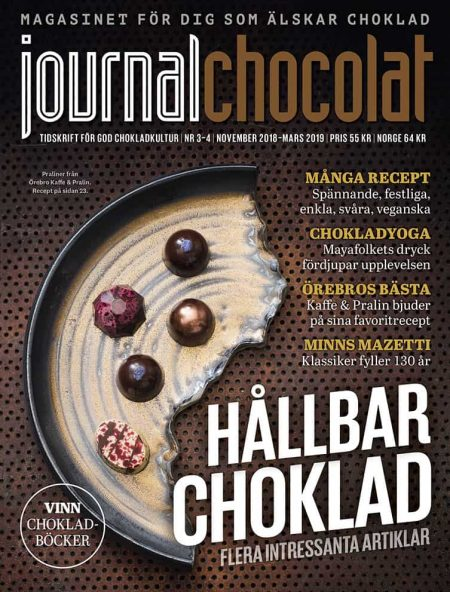 JOURNAL CHOCOLATE - Kaffe och pralin